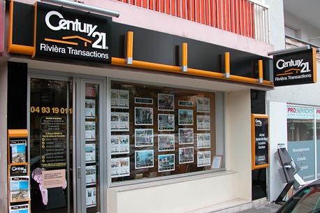 Agence immobilièreCENTURY 21 Rivièra Transactions, 06700 ST LAURENT DU VAR