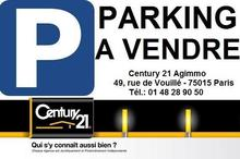 Vente parking - PARIS (75015) - 15.0 m²