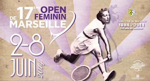 Open Féminin à Marseille