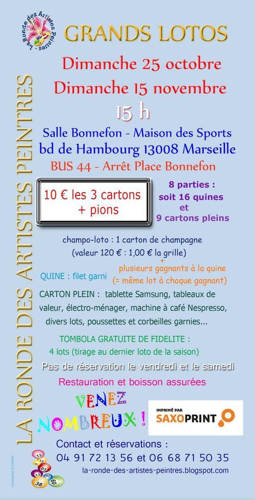 Grand Loto La Ronde Des Artistes Peintres 13008 Century 21 Can