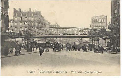 Histoire du boulevard de magenta paris 9e et paris 10e century 21 magenta - Century 21 paris 18eme ...