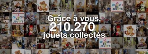 210.270 jouets collectés