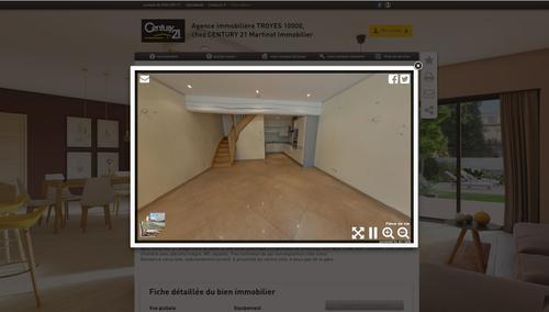 la r volution 360 degr s dans notre agence troyes century 21 martinot immobilier agence. Black Bedroom Furniture Sets. Home Design Ideas