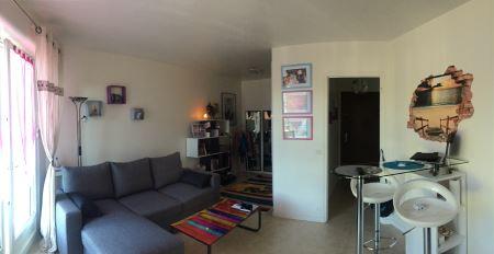 Appartement à louer - 1 pièce - 30 m2 - SENS - 89 - BOURGOGNE