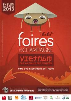 Affiche Foire de Champagne