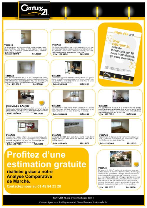 thiais aars immo immobilier century 21 exclusivite