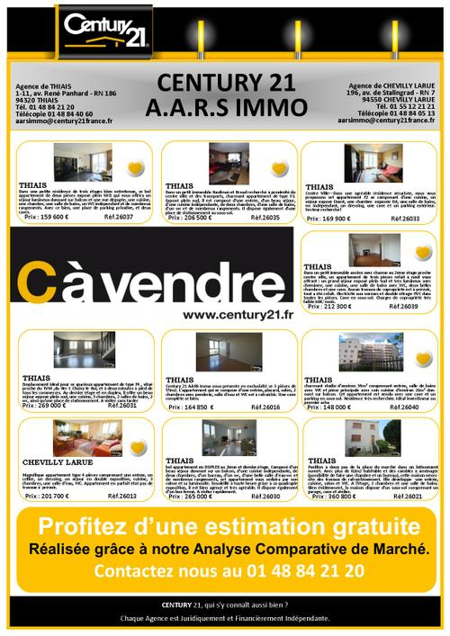thiais immobilier chevilly aars appartement maison