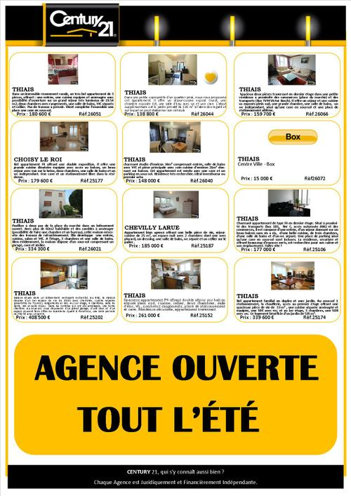 thiais agence immobiliere appartement maison acheter chevilly
