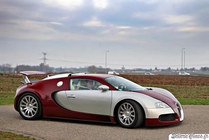 la Bugatti Veyron.