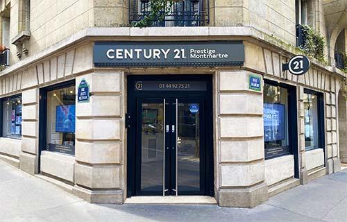 Agence immobili re paris century 21 prestige montmartre for Agence immobiliere paris