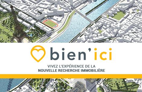 Bien'Ici : Un nouveau site internet d'annonces immobilières