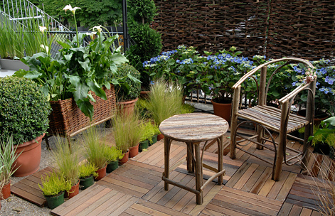 Nos astuces pour am nager votre terrasse ou votre balcon - Decorer un appartement en location ...
