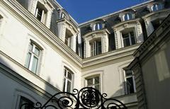 L'hôtel particulier, une noble maison de ville.