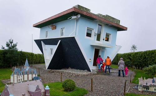 Maison sans dessus dessous