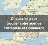 Trouvez votre agence entreprise et commerce